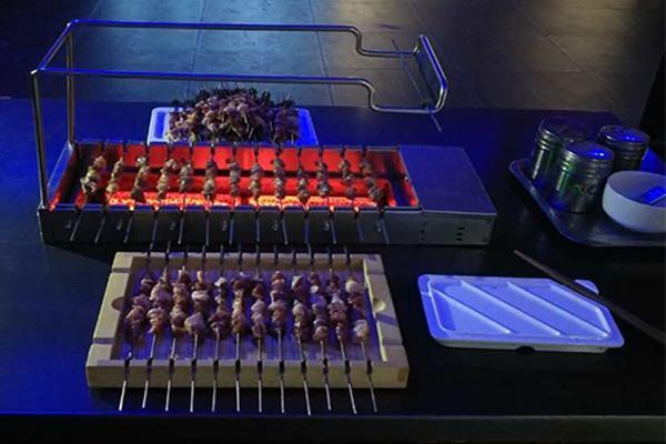 自动电烤炉,自动碳烤炉,自动烧烤炉,自动烧烤设备,