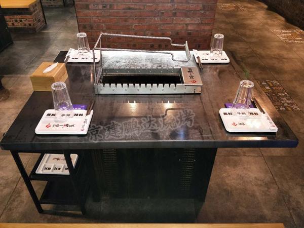 京建鹏达2021新款不锈钢钢管烧烤店座椅