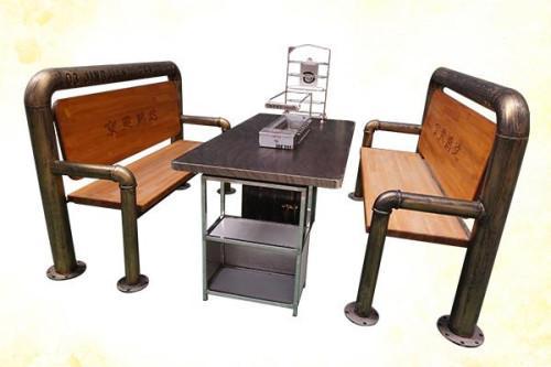 自动烧烤桌/你知道自动翻转烧烤桌有什么优点吗?