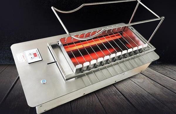 全自动翻转烧烤机油哪些优点值得说出来呢?