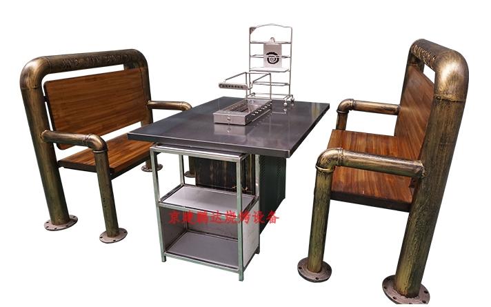 想开一家无烟烧烤店怎么选择全自动翻转烧烤设备厂家?